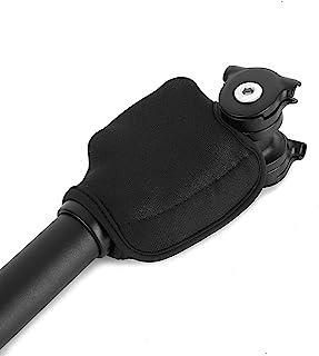 GEZICHTA 自行车座位保护包裹座位指套自行车座位套减震自行车座位保护套管包装(尺寸:2.2 x 7.5 厘米)
