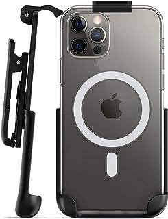 Encased 皮带夹仅适用于 Apple Clear 手机壳 (iPhone 12/12 Pro) 皮套——不含保护套