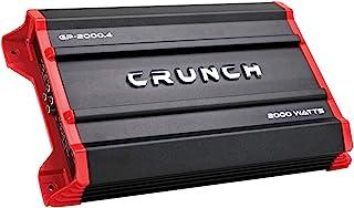 Crunch GP-2000.4 接地式打音器 2,000 瓦 4 通道 AB 类放大器