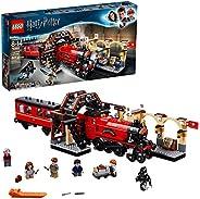 LEGO 乐高 75955 哈利波特霍格沃茨特快列车玩具火车组合套装,包括火车模型和哈利·波特,赫敏·格兰杰和罗恩·韦斯莱人物模型(801件)