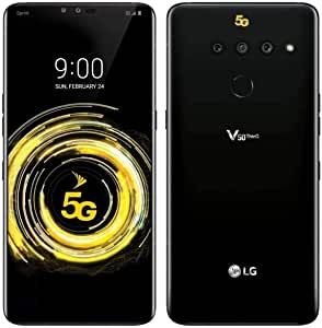 LG V50 ThinQ 128GB LMV450PM Sprint CDMA 和 GSM 解锁 5G 智能手机极光黑
