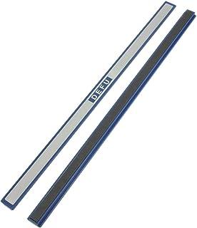 Uxcell 塑料板磁性条纹,30cm 长,2件,蓝色白色