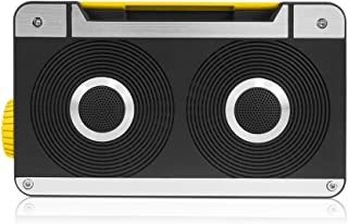 AXESS SPBT1063BL 迷你蓝牙音箱带免提通话和内置可充电电池蓝色SPBT1063YL