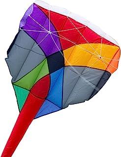 HQ Kites 迷彩可转换运动风筝 - 多风筝 - 484 英寸包括尾部 - 单线或双线特技风筝 - 户外活动乐趣适合 10 岁及以上儿童