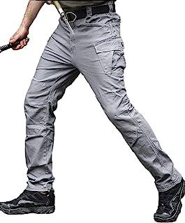 男士 Ripstop 战术战斗军裤,户外工作工装休闲裤棉质工装裤