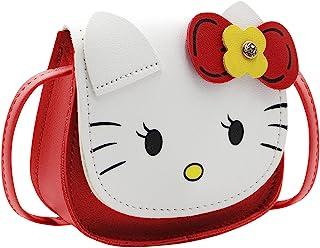 小女孩迷你钱包蝴蝶结猫肩包公主可爱手拿包钱包适合儿童