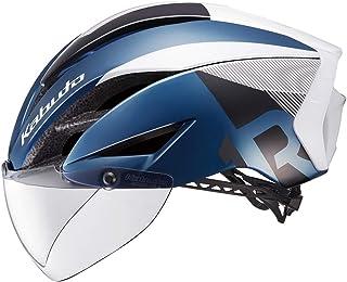 OGK kabuto 头盔 AERO-R1 CV G-1金属藏青色 S/M