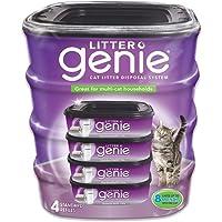 乱扔垃圾 Genie 猫砂 disposal 系统补充打印机碳粉 4 Pack