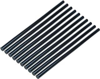 Saim 热熔胶棒 0.39 英寸x10.23 英寸/10 毫米x260 毫米(10 件装)兼容大多数胶枪用于高粘度胶水/修复工具套件 DIY 手工工具 - 黑色