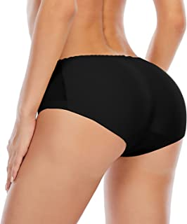 女式提臀内裤无缝臀垫增强内衣加垫内裤
