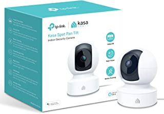 Kasa Smart Security Camera by TP-Link, 360°rotational views, No Hub Required, Works with Alexa(Echo Spot/Show & Fire TV), ...