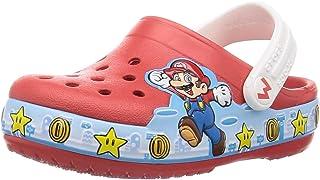Crocs 卡骆驰 中性款 儿童 Fun Lab Super Mario Lights 木鞋