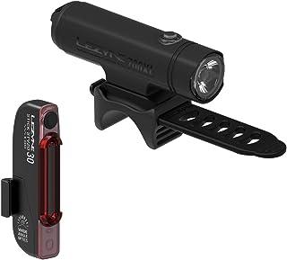 LEZYNE 经典驱动 XL & Stick Drive 自行车前后 LED 灯组合套装,USB 可充电,自行车灯一对