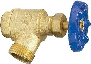 Homewerks VGRBNOB5B VGR-BNO-B5B 花园阀门弯曲鼻,内螺纹,1 英寸,黄铜