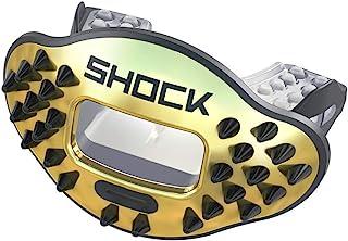 Shock Doctor Chrome 3D Spike Max 气流护齿器 - 金色尖头 - 35019099213DSPK