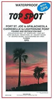 来自Port St Joe Alalch 至Lthse Point 的顶点钓鱼地图