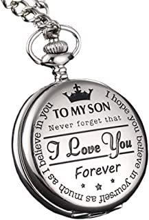 to My Son 怀表 Dad and Mom 石英怀表