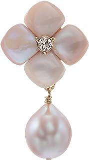 VENDOME BOUTIQUE 贝壳 花朵 淡水珍珠 2用胸针 VBMV9001 DP