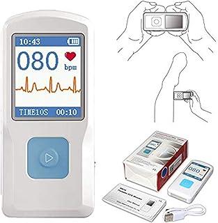 CONTEC 便携式 ECG/EKG 显示器 PC 软件 电心形图 蓝牙心率节拍 LCD 显示器 PM10