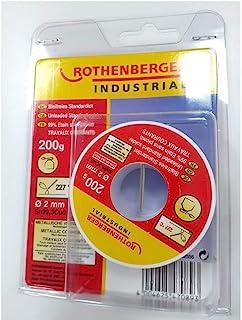 Rothenberger Industrial 1000002556 无残留标准批量,200克,直径2毫米,红色