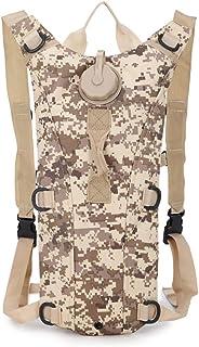 Hydration Pack 背包带 3 升水袋,轻质户外运动装备,适合徒步旅行、骑自行车、狩猎、登山、跑步