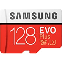 Samsung 三星 存储卡 EVO Plus 128GB microSDXC UHS-I U3 100MB/s Ful…