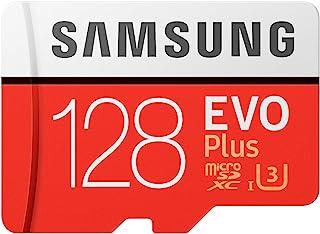 Samsung 三星 存储卡 EVO Plus 128GB microSDXC UHS-I U3 100MB/s Full HD & 4K UHD 可进行Nintendo Switch操作 MB-MC128GA/ECO