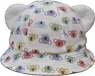 遮阳帽 带耳朵动物图案帽子 灰白色 42cm 11020 米白色 44