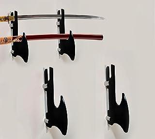 WANLIAN 剑架 剑钩 亚克力双层壁装武士剑支架 支持所有剑