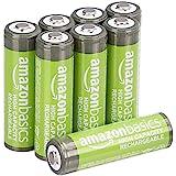 AmazonBasics AA High-Capacity Rechargeable Batteries (8-Pack…