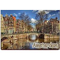 阿姆斯特丹冰箱磁贴荷兰旅行纪念品