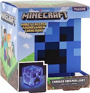 Paladone Minecraft Charged 爬行灯,带爬行服声音 - 官方*商品