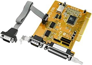Cablematic UPCI 卡 16 °C550 VScom 并行 RS232 2 端口和 1 个并行端口