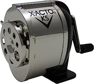 X-ACTO Ranger 1031 经典手摇机械复古卷笔刀,银色/黑色