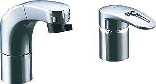Lixil (骊住) INAX 洗面台用带软管式单把手混合水龙头环保把手电镀环保小型出水切换功能防雪防水规格 RLF - 682yn