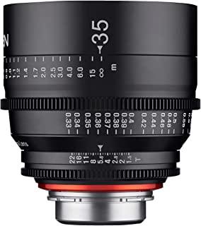 Xeen 15035T1.5PL T1.5 Cine 镜头 PL连接器 35 毫米 黑色