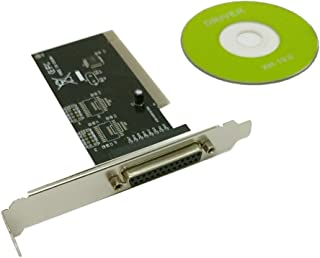 BODHiMECH DB25 并行端口 IEEE 1284 打印机 PCI 控制器卡适配器
