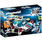 Playmobil 9002 Super 4 FulguriX with Agent Gene