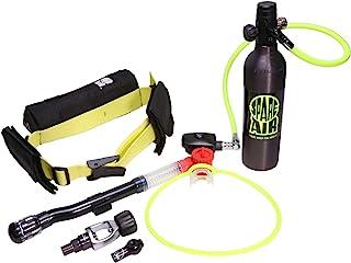 Spare Air Xtreme 6 迷你水肺水箱可长达20分钟水下 - 套装包括腰束、SPG、调节器、调节器、调节器、项链补充适配器龙虾、潜水、清洁船体
