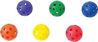 软质塑料球9(6个1组)U7003 直径约9.2cm 6色1组 茶球 TOOREO