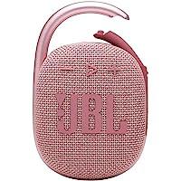 JBL CLIP4 蓝牙音箱 USB C充电/IP67防尘防水/搭载无源*器/便携/2021年款 粉色 JBLCLIP4…