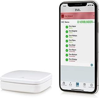 Eve Extend – 蓝牙范围扩展器,适用于 Apple HomeKit-enabled Eve 配件 白色 10EAB9901