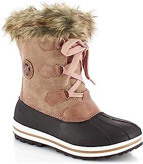KIMBERFEEL 女童雪地靴,尺寸
