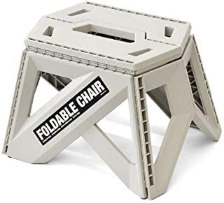 bcl(bcl) 四双人椅 23厘米 灰色 踏台 四双人椅 23厘米 灰色 折叠 户外 露营 冲浪板台 小巧 椅子 桌子 桌子 薄型 洗车 bcl 127705