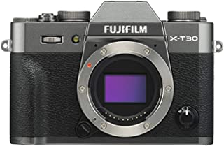 Fujifilm 富士 X-T30 无反光数码相机 木炭银 (机身)