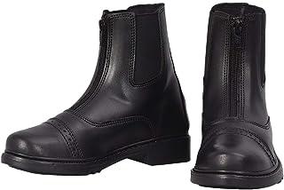 TuffRider 儿童起步器前部拉链派克靴 - 儿童马术骑士英靴