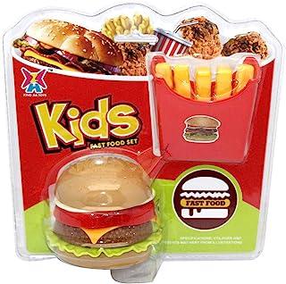Kidz 439105 汉堡和石粉,多色