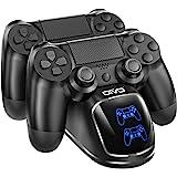 PS4 控制器充电器底座,OIVO 控制器充电底座,带*的 1.8 小时充电芯片,充电底座兼容 Playstation…