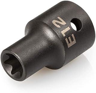 TEKTON 1/2 英寸驱动器 x E12 外部星形冲击插座 | SID22412