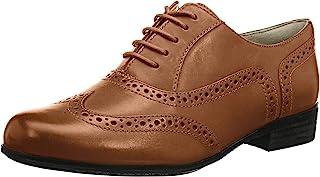 Clarks 女士 Hamble Oak 德比鞋皮鞋